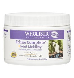 Wholistic Pet Organics Wholistic Pet Organics CAT Feline Complete + Joint Mobility 4 oz