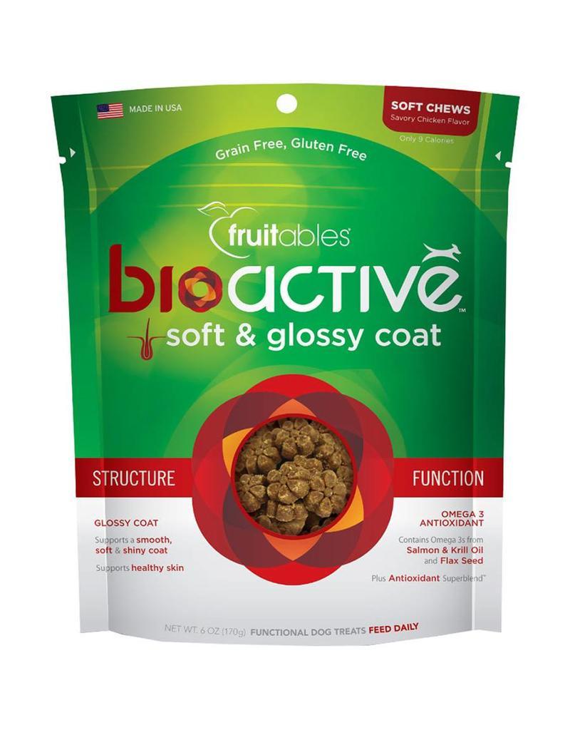 Fruitables Fruitables 6 oz Functional Soft Treats  Bioactive Soft & Glossy Coat