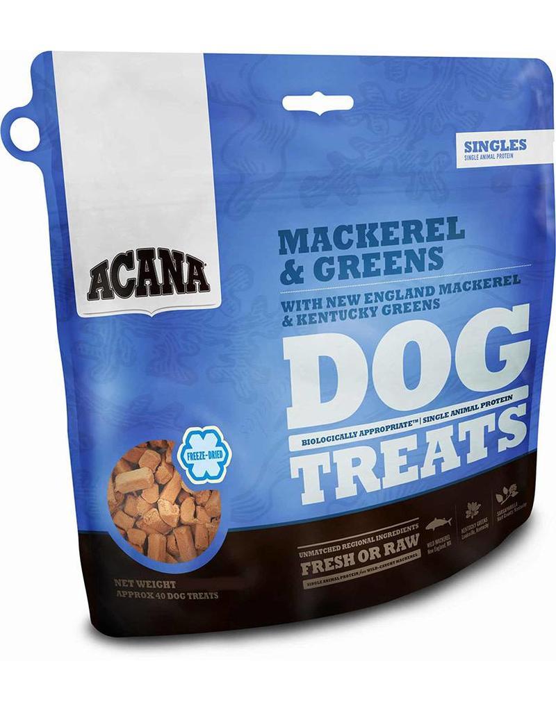 Champion Pet Foods Acana 3.25 oz Freeze Dried Dog Treats Mackerel & Greens