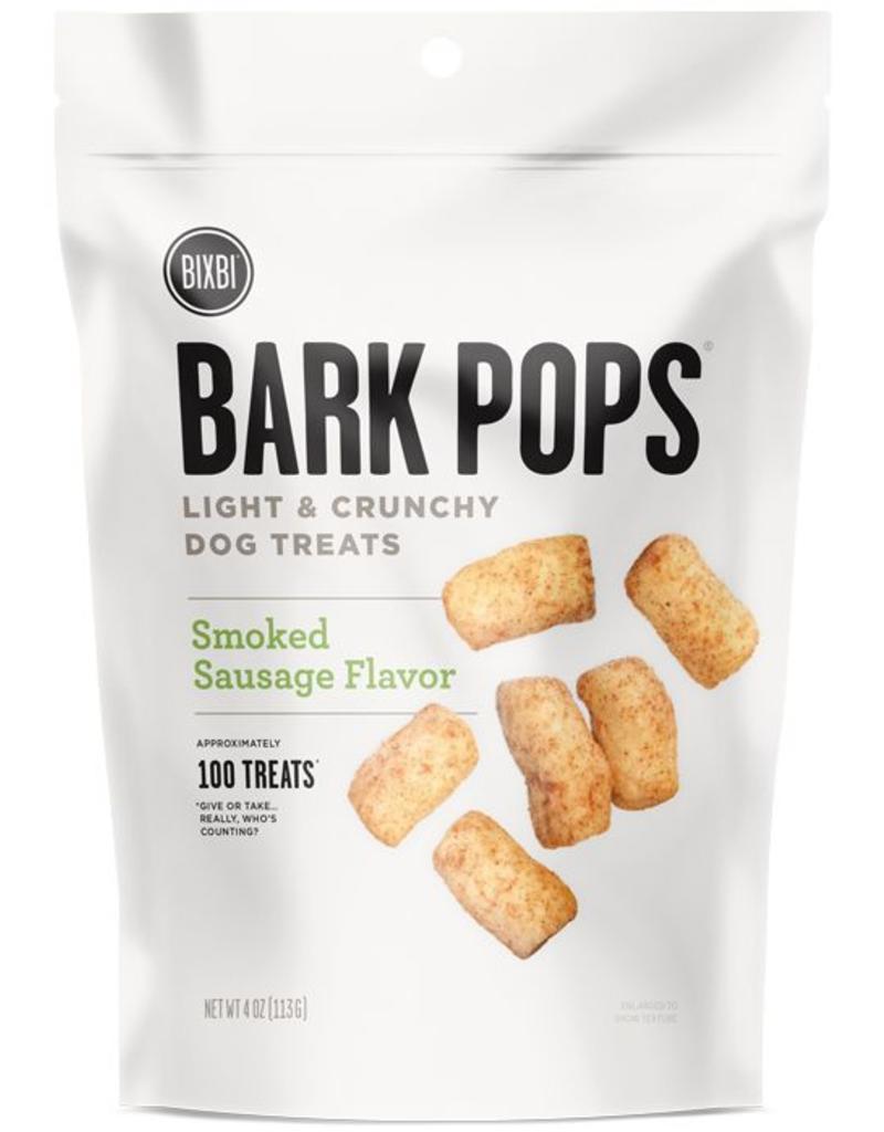 Bixbi Bixbi Bark Pops 4 oz  Smoked Sausage