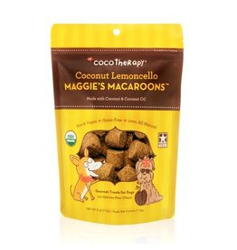 CoCo Therapy Coco Therapy Dog Treats Macaroons Coconut Lemoncello 4 oz