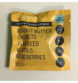 Jiminy's Cricket Treats .5 oz Peanut Butter & Blueberry