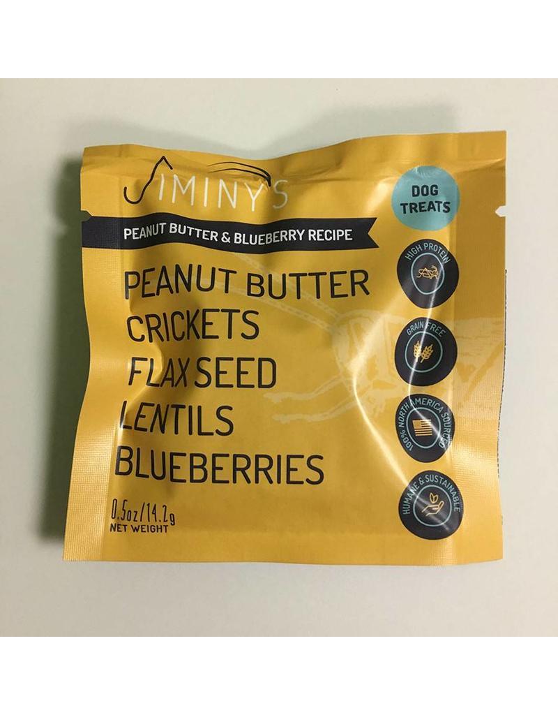 Jiminy's Cricket Treats .5 oz Peanut Butter & Blueberry