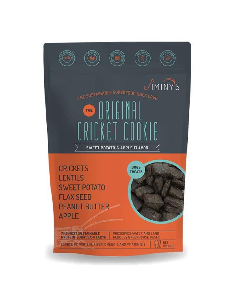 Jiminy's Cricket Treats 6 oz Sweet Potato & Apple