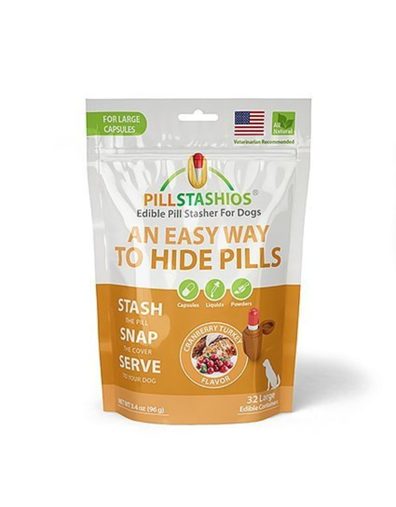 Pillstashio Pillstashios Pill Stasher LARGE Capsules Cranberry Turkey
