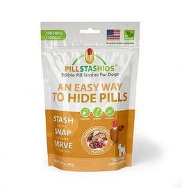 PillStashios Pill Stasher SMALL Capsules Cranberry Turkey