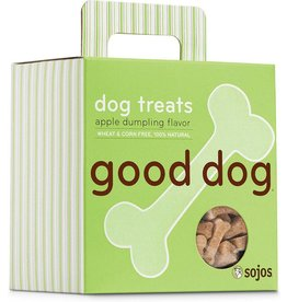 Sojo's Sojo's Crunchy Dog Treats 8 oz Good Dog Apple Dumpling