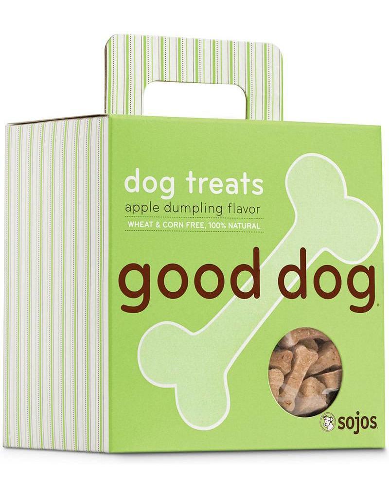 Sojo's Sojo's Crunchy Dog Treats 8 oz Good Dog Apple Dumpling