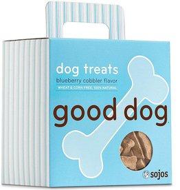 Sojo's Sojo's Crunchy Dog Treats 8 oz Good Dog Blueberry Cobbler