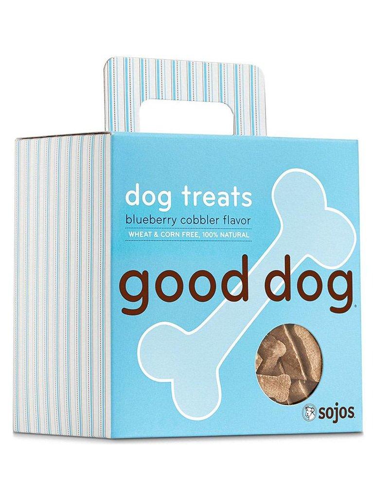 Sojo's Sojo's Crunchy Dog Treats Good Dog Blueberry Cobbler 8 oz