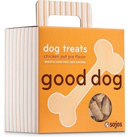 Sojo's Sojo's Crunchy Dog Treats 8 oz Good Dog Chicken Pot Pie