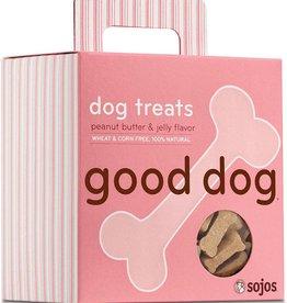 Sojo's Sojo's Crunchy Dog Treats 8 oz Good Dog Peanut Butter & Jelly