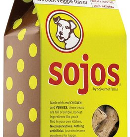 Sojo's Sojos Crunchy Dog Treats 10 oz Chicken & Veggies