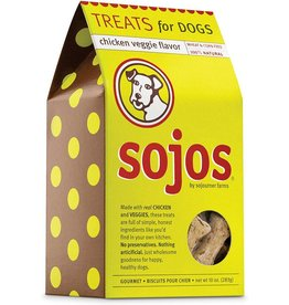 Sojo's Sojos Crunchy Dog Treats 10 oz Chicken & Veggies