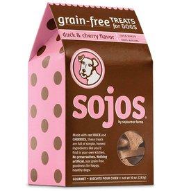 Sojo's Sojos Crunchy Dog Treats 10 oz Duck & Cherry