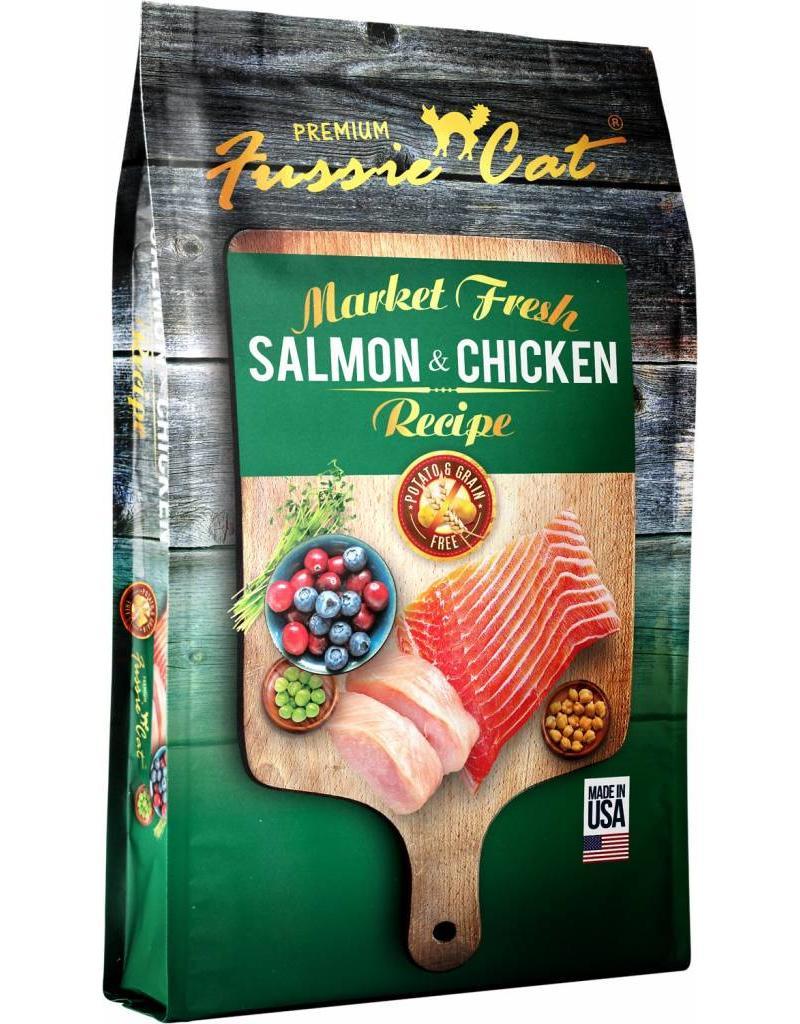 Fussie Cat Fussie Cat Cat Kibble Salmon & Chicken 4 lbs