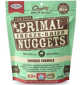 Primal Pet Foods Primal Freeze Dried Dog Nuggets Chicken 5.5 oz