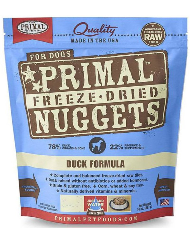 Primal Primal Freeze Dried Dog Nuggets 5.5 oz  Duck