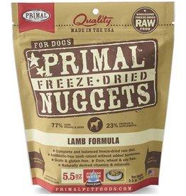 Primal Pet Foods Primal Freeze Dried Dog Nuggets Lamb 5.5 oz