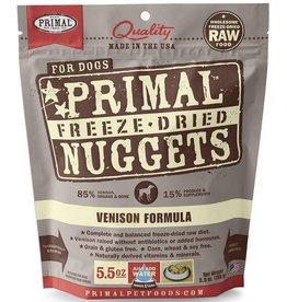 Primal Pet Foods Primal Freeze Dried Dog Nuggets Venison 5.5 oz