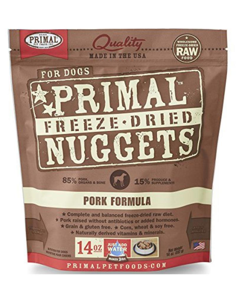 Primal Primal Freeze Dried Dog Nuggets 14 oz Pork
