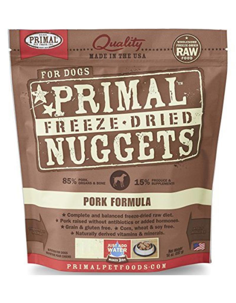 Primal Primal Freeze Dried Dog Nuggets 5.5 oz  Pork