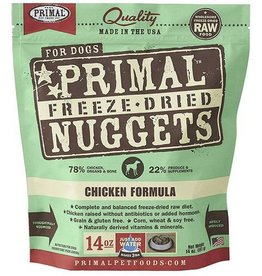 Primal Primal Freeze Dried Dog Nuggets 14 oz Chicken