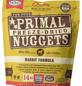 Primal Primal Freeze Dried Dog Nuggets 14 oz Rabbit