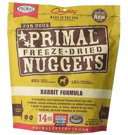 Primal Primal Freeze Dried Dog Nuggets 14 oz Rabbit