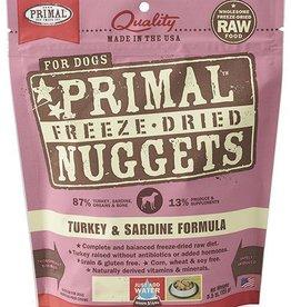 Primal Primal Freeze Dried Dog Nuggets 14 oz Turkey & Sardine