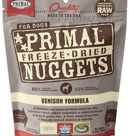 Primal Primal Freeze Dried Dog Nuggets 14 oz Venison