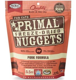 Primal Primal Freeze Dried Cat Nuggets 5.5 oz  Pork