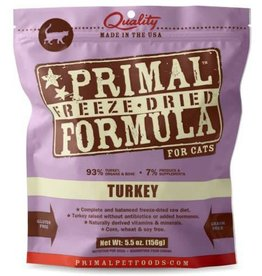 Primal Primal Freeze Dried Cat Nuggets 5.5 oz  Turkey