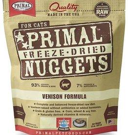 Primal Primal Freeze Dried Cat Nuggets 5.5 oz  Venison