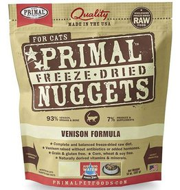 Primal Pet Foods Primal Freeze Dried Cat Nuggets Venison 5.5 oz