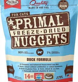 Primal Primal Freeze-Dried Cat Nuggets 14 oz Duck