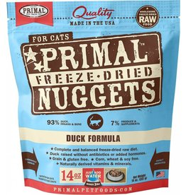 Primal Pet Foods Primal Freeze-Dried Cat Nuggets Duck 14 oz