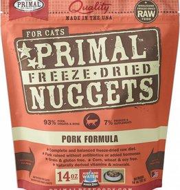 Primal Primal Freeze-Dried Cat Nuggets 14 oz Pork