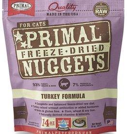 Primal Primal Freeze-Dried Cat Nuggets 14 oz Turkey