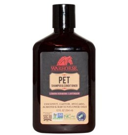 Warhorse Pet Shampoo & Conditioner Lemon Verbena Lavender 12 fl oz