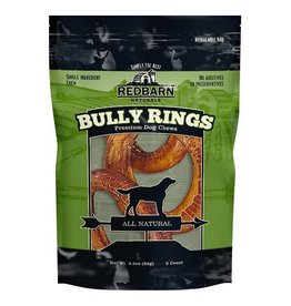 Red Barn Red Barn Dog Bully Sticks  Bully Rings 3 PK