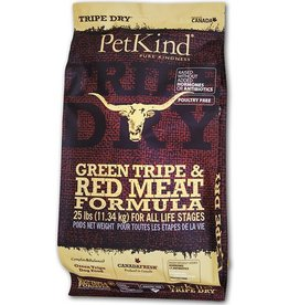 Petkind PetKind Dog Kibble Red Meat & Green Tripe 25 lb