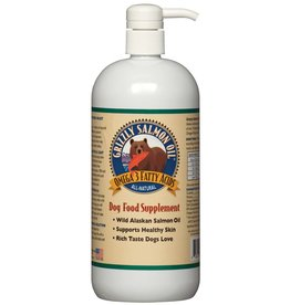 Grizzly Grizzly Wild Alaskan Salmon Oil For Dogs 4 oz