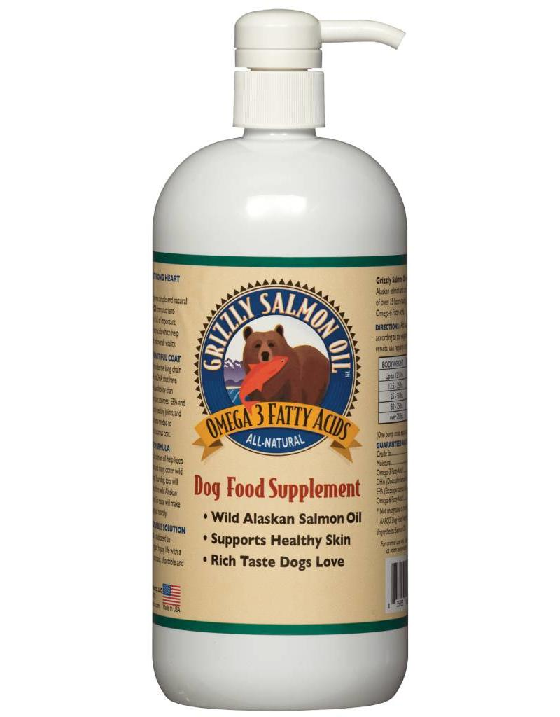 Grizzly Grizzly Wild Alaskan Salmon Oil For Dogs 16 fl oz