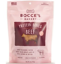 Bocce's Bakery Bocce's Bakery 5 oz Protein Bones Beef
