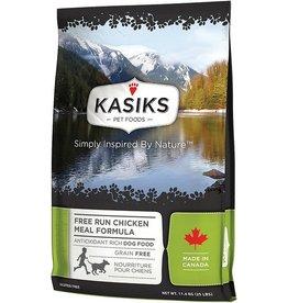Kasiks Grain Free Dog Kibble Free Run Chicken 25 lbs