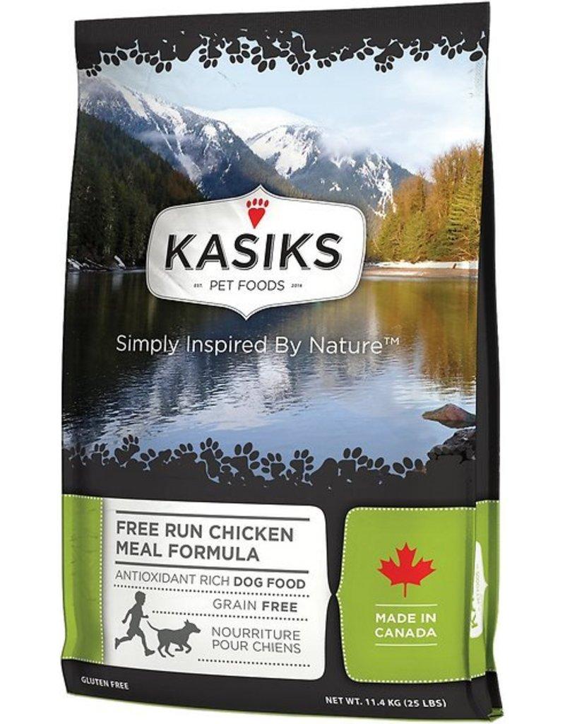 Kasiks Kasiks Grain Free Dog Kibble Free Run Chicken 25 lbs