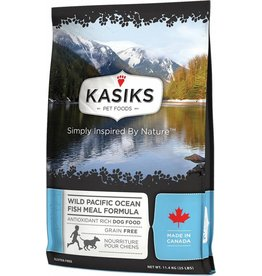 Kasiks Kasiks Grain Free Dog Kibble Wild Pacific Ocean Fish 25 lbs