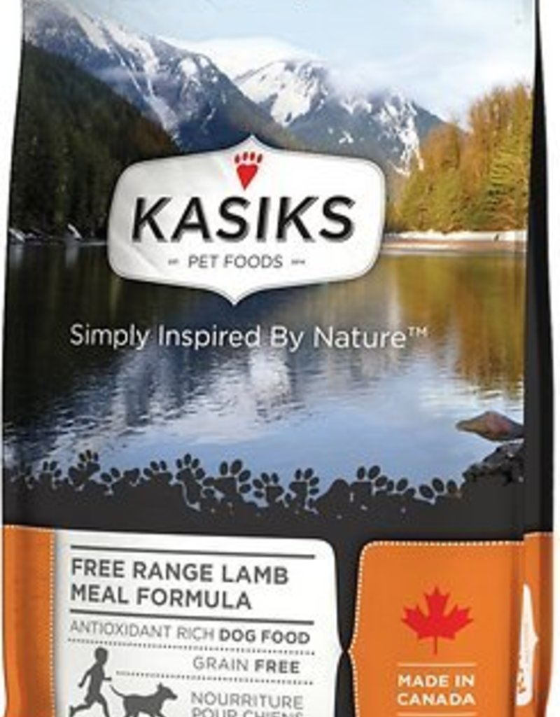 Kasiks Kasiks Grain Free Dog Kibble Free Range Lamb 25 lbs