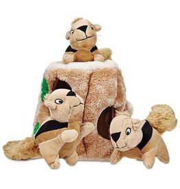 Outward Hound Outward Hound Plush Hide-a-Squirrel Med